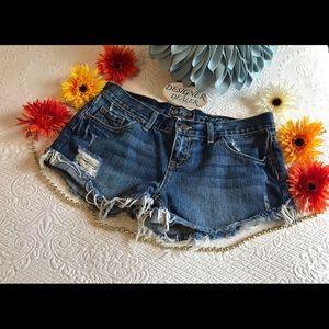 VICTORIA SECRET PINK Short Denim Shorts Size 4